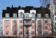 Puistola Building, Finland, Buildings, Architectural Engineering