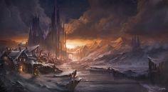 Wintercastle by flaviobolla on DeviantArt
