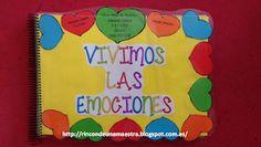 "Rincón de una maestra: El libro viajero ""Vivimos las emociones"" Spanish Activities, Emotional Intelligence, Homeschool, Teacher, Mindfulness, Classroom, Day, Kids Psychology, Maps"