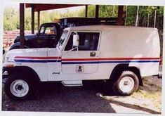 Modified CJ8 4x4 for rural routes. Used extensively in Alaska.