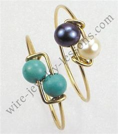 Simple Two-Bead Ring