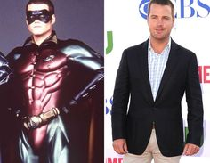 Men of the --Chris O'Donnell Stars Then And Now, O Donnell, Catwoman, Superhero, Men, Fictional Characters, Fantasy Characters