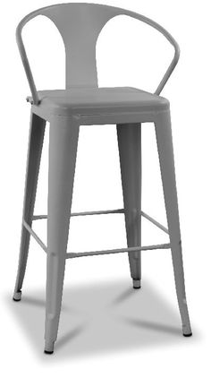 Montreux Barstol i plåt - Mattgrå - 649 kr - Trendrum. Stool, Chair, Furniture, Home Decor, Decoration Home, Room Decor, Home Furnishings, Home Interior Design, Chairs
