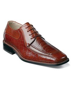 Stacy Adams Shoes, Santino Animal Print Oxfords - Mens All Men's Shoes - Macy's