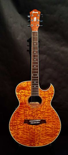 Ibanez AES 10 EAM Flamed Top Acoustic Electric Guitar Home Studio Music, Ibanez, Acoustic Guitar, Music Instruments, Electric, Tools, School, Guitars, Instruments