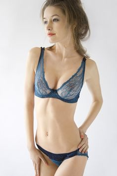 d386258dd546 Eve's Apples - Sheer Lace Luxury Bra for Holiday Wear on Small Busts &  Petites. MaidofDarkness · Lingerie
