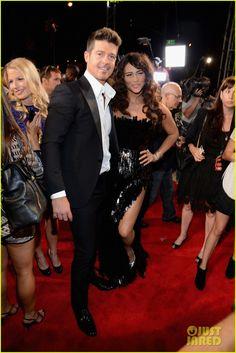 Robin Thicke and Paula Patton -  2013 MTV Video Music Awards