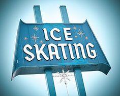 Culver Ice Arena Ice Skating: Part 1 Vintage Signs For Sale, Vintage Metal Signs, Vintage California, Southern California, Custom Metal Signs, Outdoor Signage, West Covina, Garage Art, Advertising Signs