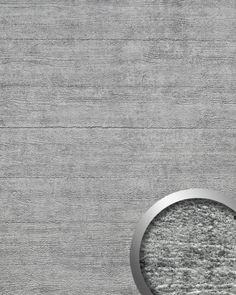 Wandverkleidung Beton Optik WallFace 14802 URBAN Design Platte Kunststoff Blickfang Deko selbstklebende Tapete grau   2,60 qm – Bild 1