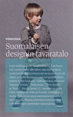 Kotivinkki 10/2013. Astubutiikkiin.fi osallistui Communikén järjestämään vastuullisten merkkien pop up -aamupäivään A-lehtien päämajassa elokuussa 2013.