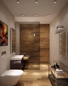 The other small bathroom design ideas are buoyant and revolutionary, rethinking what we expect a bathroom design should see like. design 10 Small Bathroom Ideas for Minimalist Houses Modern Bathroom Design, Bathroom Interior, Bathroom Renovations, Amazing Bathrooms, Bathroom Colors, Best Bathroom Colors, Bathroom Flooring, Bathroom Design Small, Small Bathroom Renovations