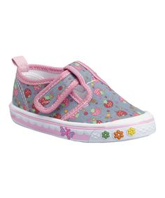 Look at this Papos Blue Strawberry T-Strap Sneaker on #zulily today!