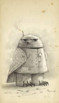 "Shaun Tan ""Snow Owl"""