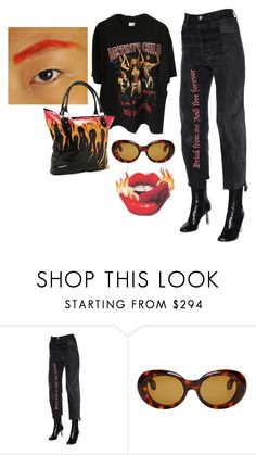 """536"" by sainad ❤ liked on Polyvore featuring Vetements, Acne Studios and Iron Fist"