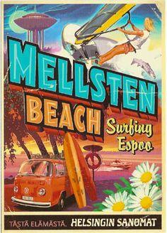 Mellsten Beach by Helsingin Sanomat