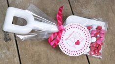 Valentine's Day Label Tag Sticker PRINTABLE by FlairDesigneryLLC