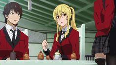 Anime: Kakegurui, Episode 8 Mugi Mary why?!