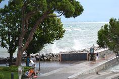 Desenzano - Det kan også blæse ved Gardasøen :-)