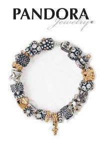 Pandora Bracelet - two tone