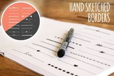 Check out Hand Sketched Borders by Design Shop on Creative Market