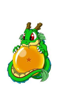 Anime: Dragon Ball // Shenlong Kawaii Chibi_Sphere of Dragon 1 - Dragon Ball Gt, Baby Cartoon, Anime Comics, Dc Comics, Drawings, Naruto, Kawaii Chibi, Tattoos, Ideas