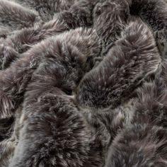 Plaid fausse fourrure Irbis - CARRE BLANC Fur Coat, Gift Ideas, Fall Season, Winter, White People, Fur Coats, Fur Collar Coat
