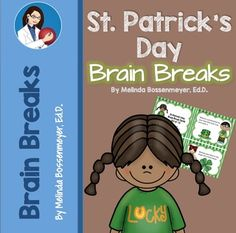 St. Patrick's Day Brain Break Cards