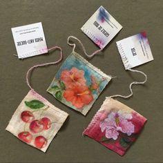 This artist turns tea bags into tiny, detailed paintings | CANVAS Arts Tea Bag Art, Tea Art, Turmeric Tea Bags, Latino Artists, Used Tea Bags, Detailed Paintings, Earl Grey Tea, Everyday Objects, Altered Art