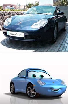 Real Life Pixar Cars
