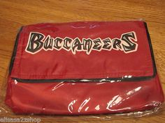 Tampa Bay Buccaneers NFL soft lunch box cooler bag BACK TO SCHOOL travel snacks  1