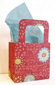 Creative Cardstock Gift Box Templates | momsbyheart.net