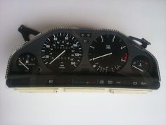 1984 BMW 325e Instrument Gauge Cluster E30 VDO 325 M20 Early Speedometer 116k #BMW
