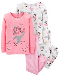 Looking for Carter's Girls Pajamas PJs Cotton Snug Ballerina Princess Set ? Check out our picks for the Carter's Girls Pajamas PJs Cotton Snug Ballerina Princess Set from the popular stores - all in one. Baby & Toddler Clothing, Toddler Outfits, Toddler Girl, Kids Outfits, Baby Girl Pajamas, Carters Baby Girl, Baby Girl Fashion, Kids Fashion, Kids Robes