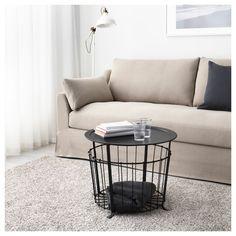 GUALOV τραπέζι με αποθηκευτικό χώρο - IKEA