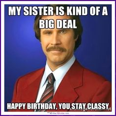 Its not a birthday wish if you don't send funny Happy Birthday Meme. Birthday wish would not be complete without a happy birthday meme. Happy Birthday Quotes, Birthday Wishes, Funny Birthday, Birthday Funnies, Birthday Sayings, Happy Birthday Sister Funny, Birthday Greetings, Happy Birthday Funny Humorous, Birthday Ideas
