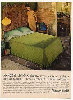 Morgan-Jones Moonweave Bedspread (1966)