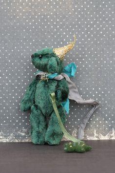 Artist Teddy bear Astrologer. $150.00, via Etsy.