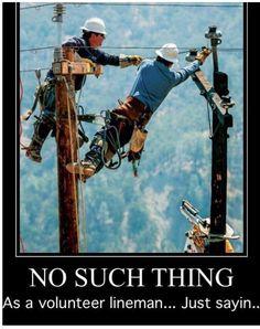 Lineman one of a kind. Lineman Love, Lineman Gifts, Power Lineman, Wood Walker, Electrical Lineman, Journeyman Lineman, Volunteer Firefighter, Electric Power, High Voltage