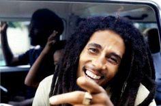 Bob Marley's smile always makes me smile.
