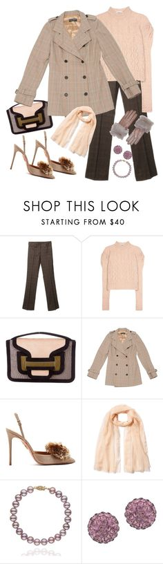 """Sophisticated in plaid"" by ellenfischerbeauty ❤ liked on Polyvore featuring Dolce&Gabbana, McQ by Alexander McQueen, Pierre Hardy, Aquazzura, Agnona, Lord & Taylor, UGG and plaid"