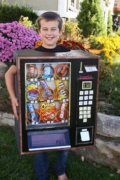 My Studio Pink: Vending Machine Costume