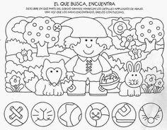 Maestra de Primaria: 46 Fichas básicas y variadas para trabajar la atención