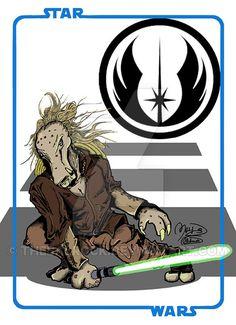 Star wars 236-Maestro K'Kruhk - Star Wars by thebalrock