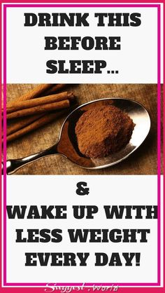 DRINK THIS BEFORE SLEEP AND WAKE UP WITH LESS WEIGHT EVERY DAY! #health #weightloss #fitness #drinks #burnfat #remedies #naturalremedies #slimfit #healthydrinks #weightlossrecipe