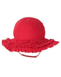 Red cherry hat  via ebay.com