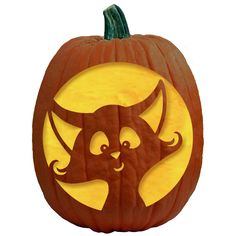 FREE Pumpkin Carving Patterns and Pumpkin Carving Stencils featuring Halloween Witches, Cats, Haunted Houses, Black Cats, Spiders, Broomsticks & Cauldrons!