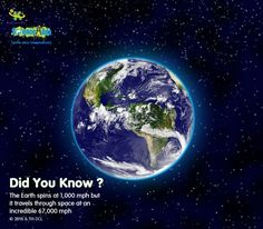 With respect to its center, the earth rotates once every 23 hours, 56 minutes and 4.091 seconds. At the equator it spins… http://itz-my.com