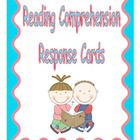 Use these useful 10 Reading Comprehension Responsecards in your classroom to check for comprehension. Use the cards for independent, partner, and homework reading.