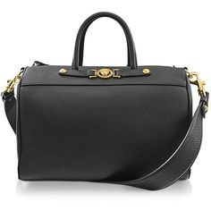 Versace Signature Medium Duffle Bag ($1,395) ❤ liked on Polyvore