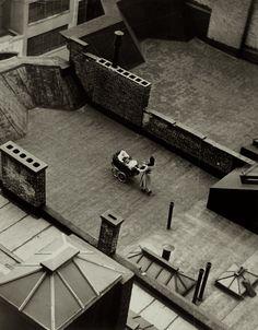 Martin Munkacsi - Roof Baby, New York, 1940 - Howard Greenberg Gallery